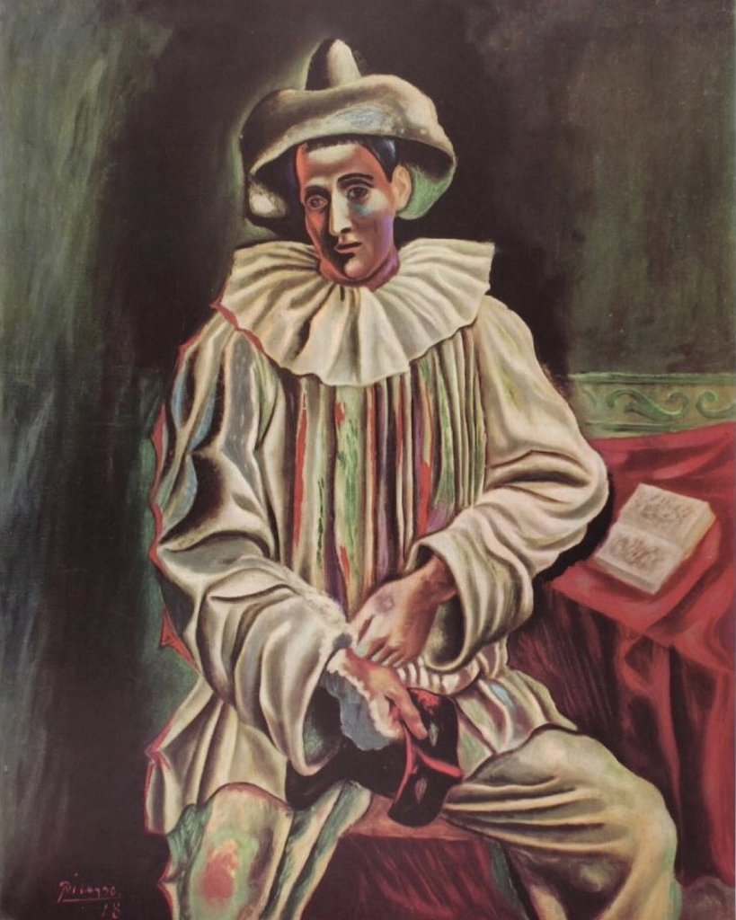 Pierrot by Picasso